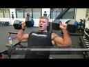 Настоящая олдскул тренировка плеч и трицепса Уэсли Уизерс