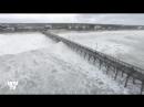 Climat : Images de l'ouragan Florence lors de son passage sur la Caroline du Nord