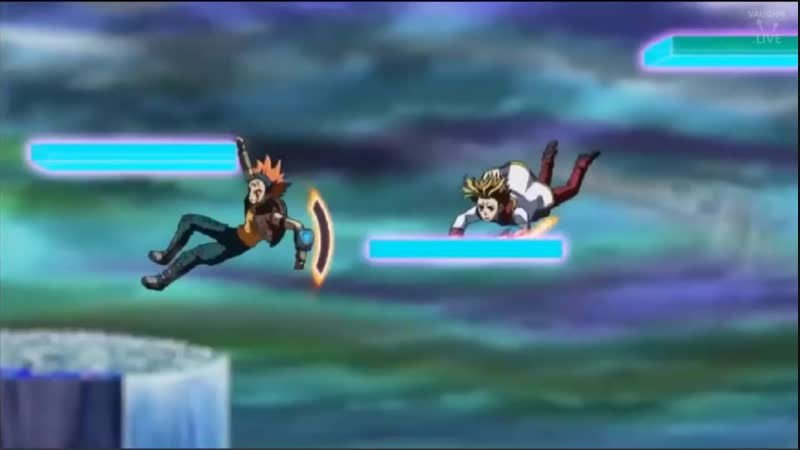 Yugioh Arc-V - Episode 139 Zarc vs Sawatari and Crow - Face of Zarc reveled - Ak