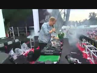 Armin van Buuren @ F1 Mexico GP