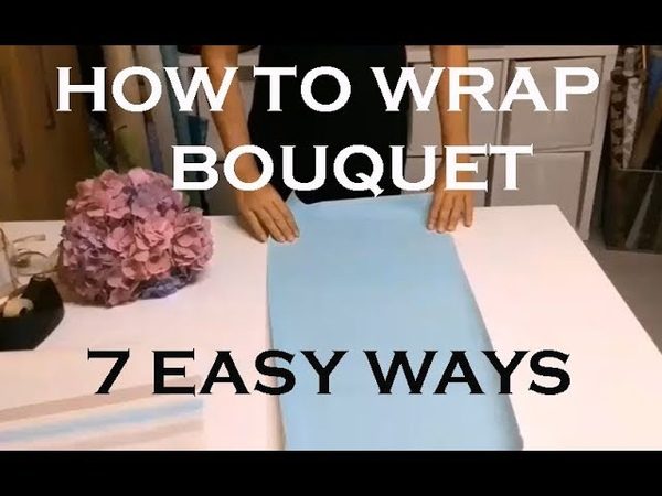 Wrapping bouquets