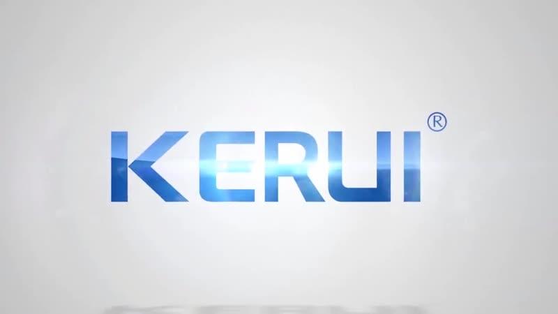 KERUI W18 1,7 дюймовый экран TFT WI-FI GSM домашняя охранная система