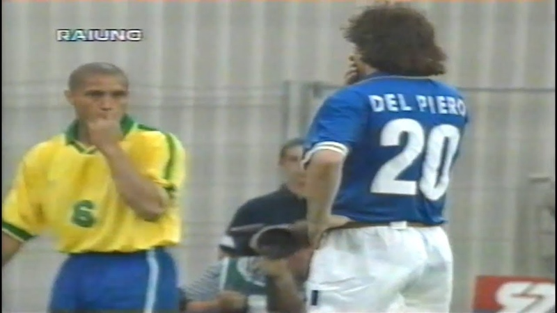 Alessandro Del Piero vs Brasil (Highlights) - Tournoi de France 1997