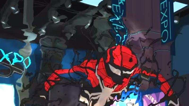 Marvel   Человек паук 2017   сезон 1 серия 9 - Старк Экспо