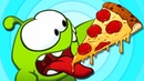 Om Nom Stories PIZZA MANIA Cut the Rope Video Blog Funny Cartoons for Children HooplaKidz TV