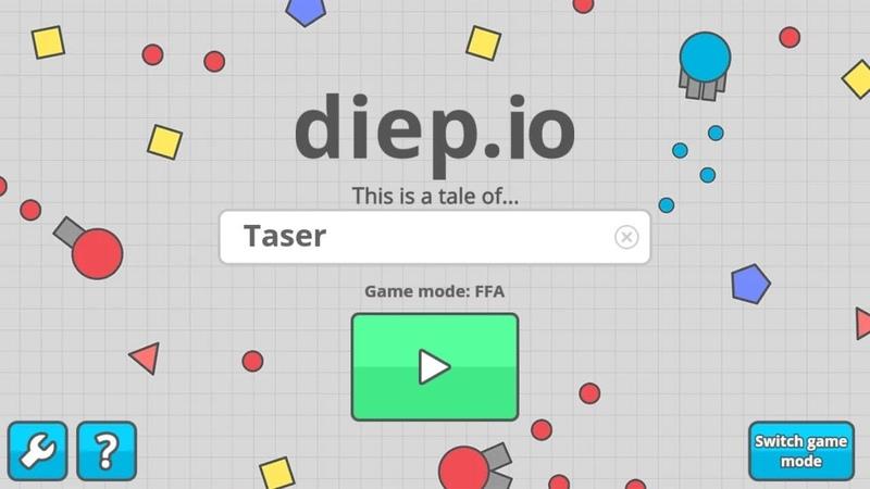 Diep.io новый и классный стиль монтажа