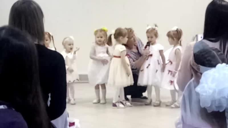 Отчетный концерт Звёздные детки 30 10 2018г