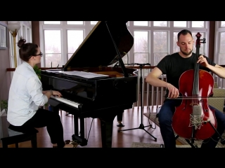 Ellie Goulding - Love Me Like You Do Cover (Cello-Piano) - Brooklyn Duo