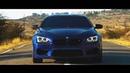 高価な車で美しいスピーディな運転 (2019年の夜) BMW M6 【Auto Mania】9
