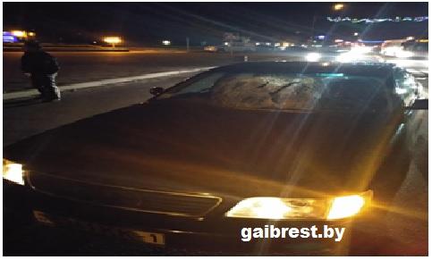 г.Береза: травмирован пешеход, переходивший дорогу по нерегулируемому переходу