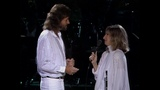 BARBRA STREISAND &amp BARRY GIBB - Guilty , What Kind Of Fool (Live-1986) (HD)