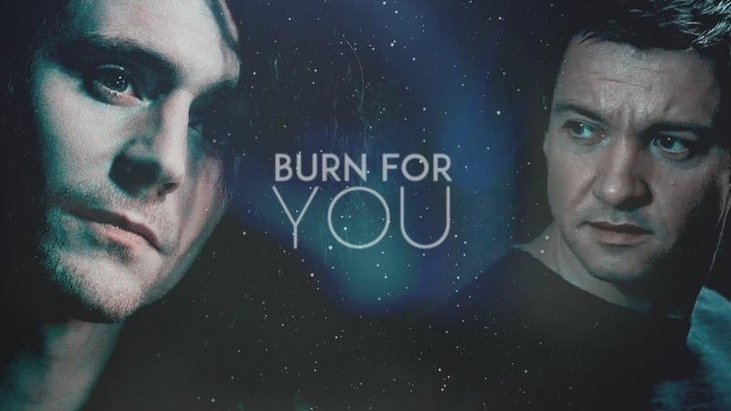 Burn for you | Loki Clint AU