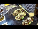 Super Loaded Sandwiches with Pulled Beef. Kiev Street Food, Ukraine