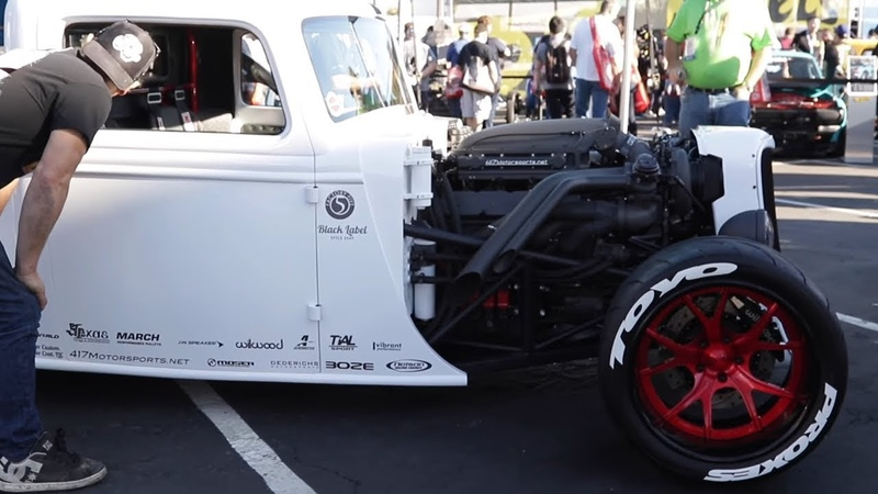 SEMA 2018 Black Label Speed Shop's Factory Five Racing Hot Rod Truck Build Defines Awesome