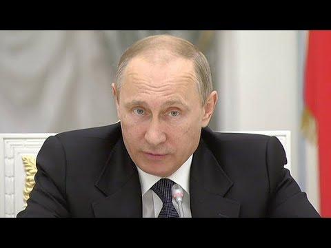 Заседание оргкомитета Победа с участием Владимира Путина. Полное видео