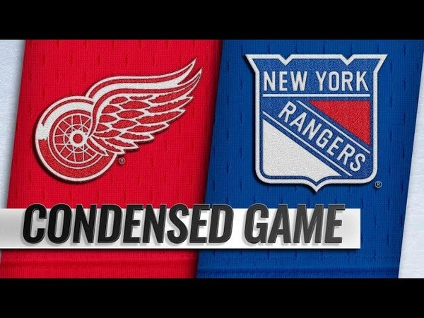 Detroit Red Wings vs New York Rangers   Mar.19, 2019   Game Highlights   NHL 2018/19   Обзор матча