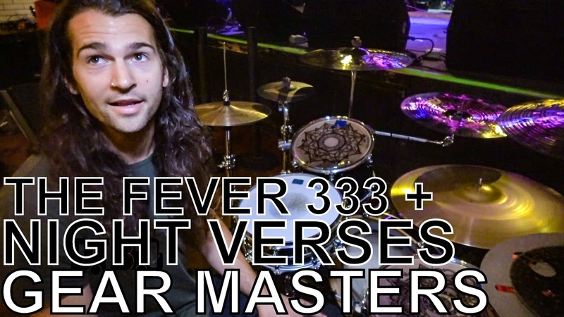 Aric Improta (of The Fever 333 and Night Verses) - GEAR MASTERS Ep. 227