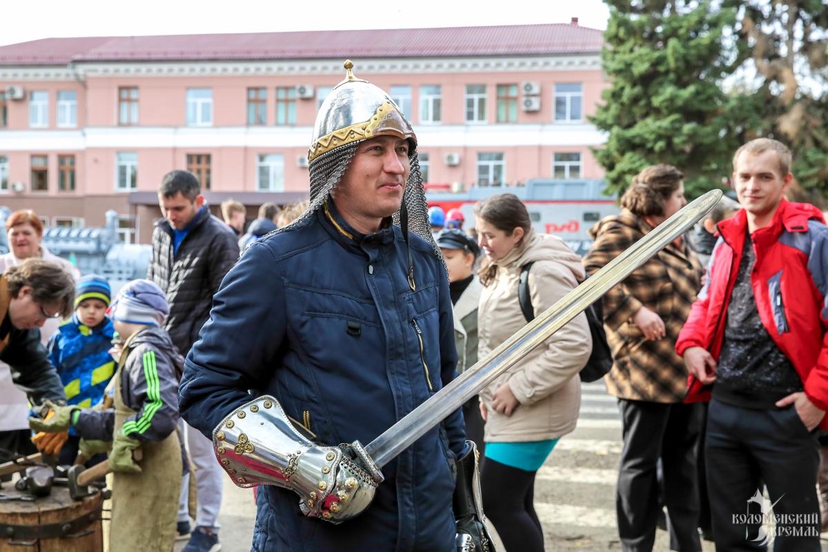 Коломенский кремль на юбилее Коломенского завода