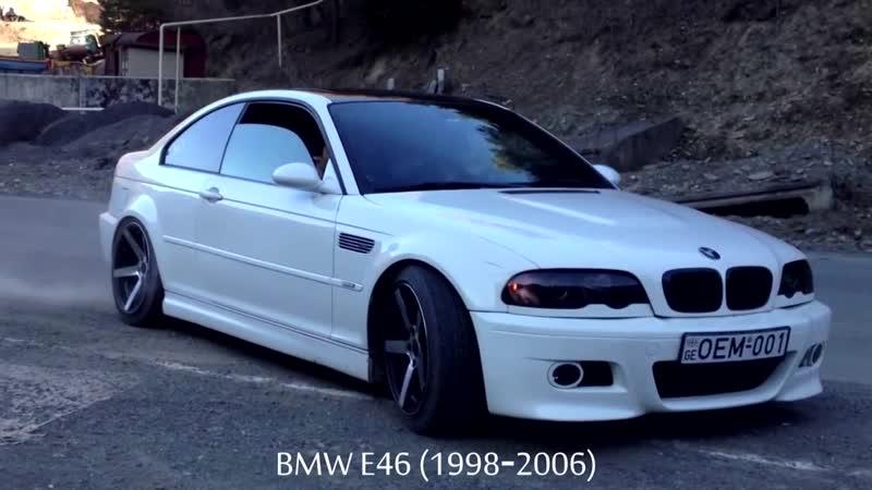 Обзор серии bmw3 - Все поколения-Generations BMW 3