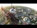 Польоти повітряних куль літаків і парапланів а також аеровідеозйомка Луцька з борта параплана 16 06 2018