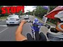 Неудачная погоня ДПС за кроссовым мотоциклом / Пикап девушек на санчезе / Кручу спиннер на 300 км/ч