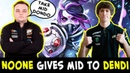When Noone meets DENDI — gives him MID