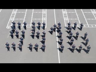 5516 әскери бөлімі Астана қаласының 20 жылдығында