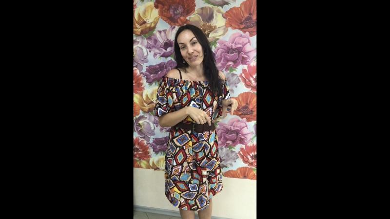 Отзыв о мастер-классе по пошиву летнего платья в Тольятти