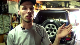 Ремонт кронштейна крепления запасного колеса PAJERO 2