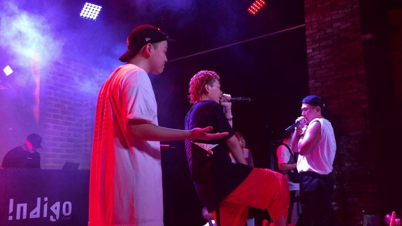 180721 Indigo - 저스디스(JUSTHIS) , Kid Milli , NO:EL , 영비(Young B) 인디고뮤직 컴필레이션 앨범 발매 기념 콘서