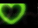 CG映像素材 動画素材 ハート ネオン LED 電球 照明 Heart BEc