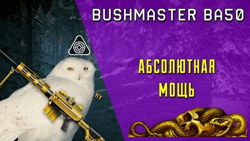 Bushmaster BA50 - Абсолютная мощь