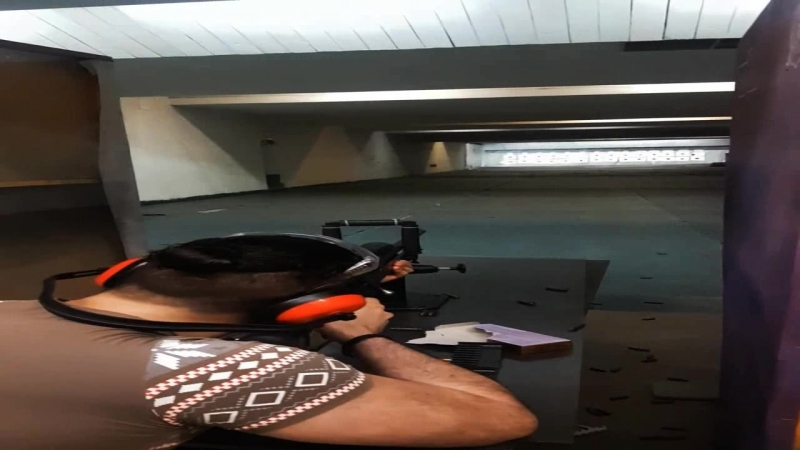 Снайперская винтовка Zastava M07 - 100 метровая галерея.