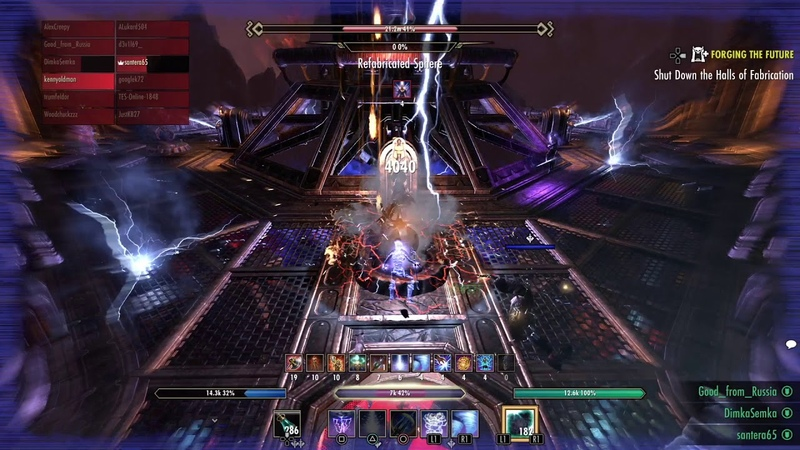 вет Halls Of Fabrication 2nd boss Pinnacle Factotum Soulgem Guild Run