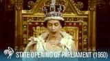 Queen Elizabeth II Speech State Opening Of Parliament (1960)