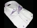 Мужская рубашка под запонки Giovanni Fratelli модель 0990-7