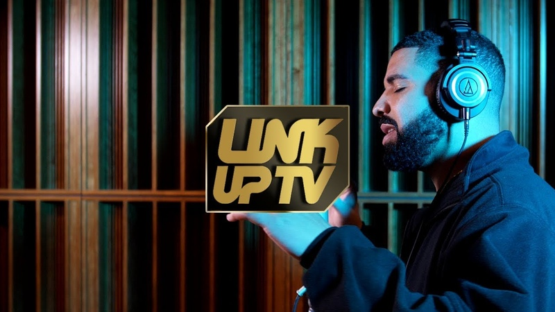 Фристайл Дрейка в британской студии Link Up TV