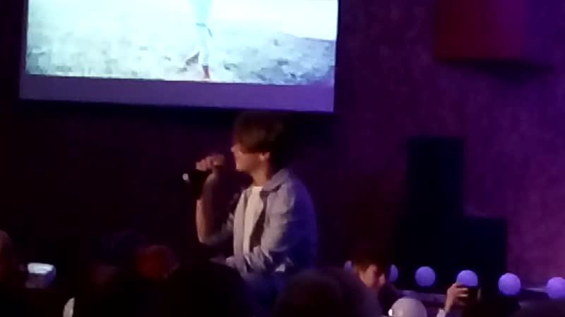Рутгер исполняет песню Родина на празднике День матери ДК Строитель Оренбург 21 ноября