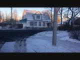 Асфальт на Набате кладут в мороз