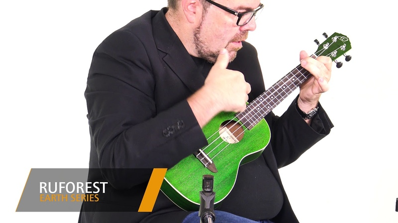 Ortega Guitars EARTH SERIES RUFOREST Ukulele