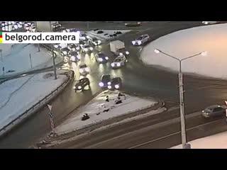 ДТП на кольце в Белгороде.
