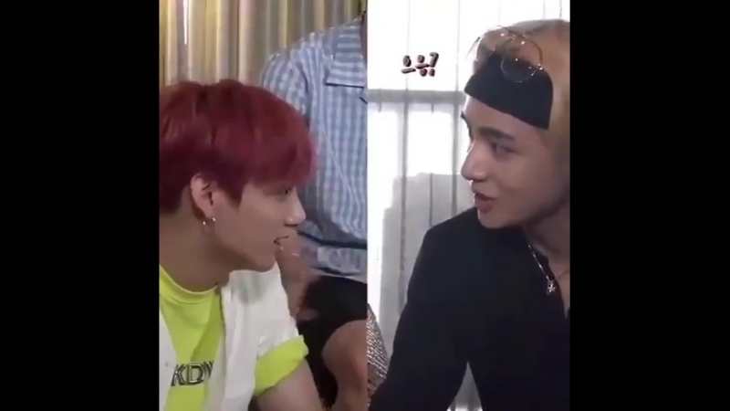 Jungkook seemed so offended when taehyung introduced him as his friend pls