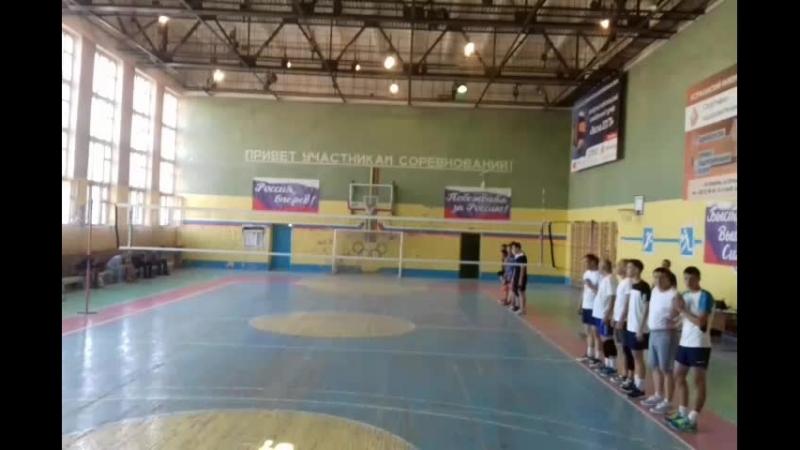 7 волейбольный турнир Астраханский кубок 2018 день первый