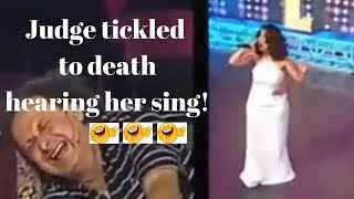 Funniest Singing Audition -Unbreak My Heart I Giggles and Laughter Compilation