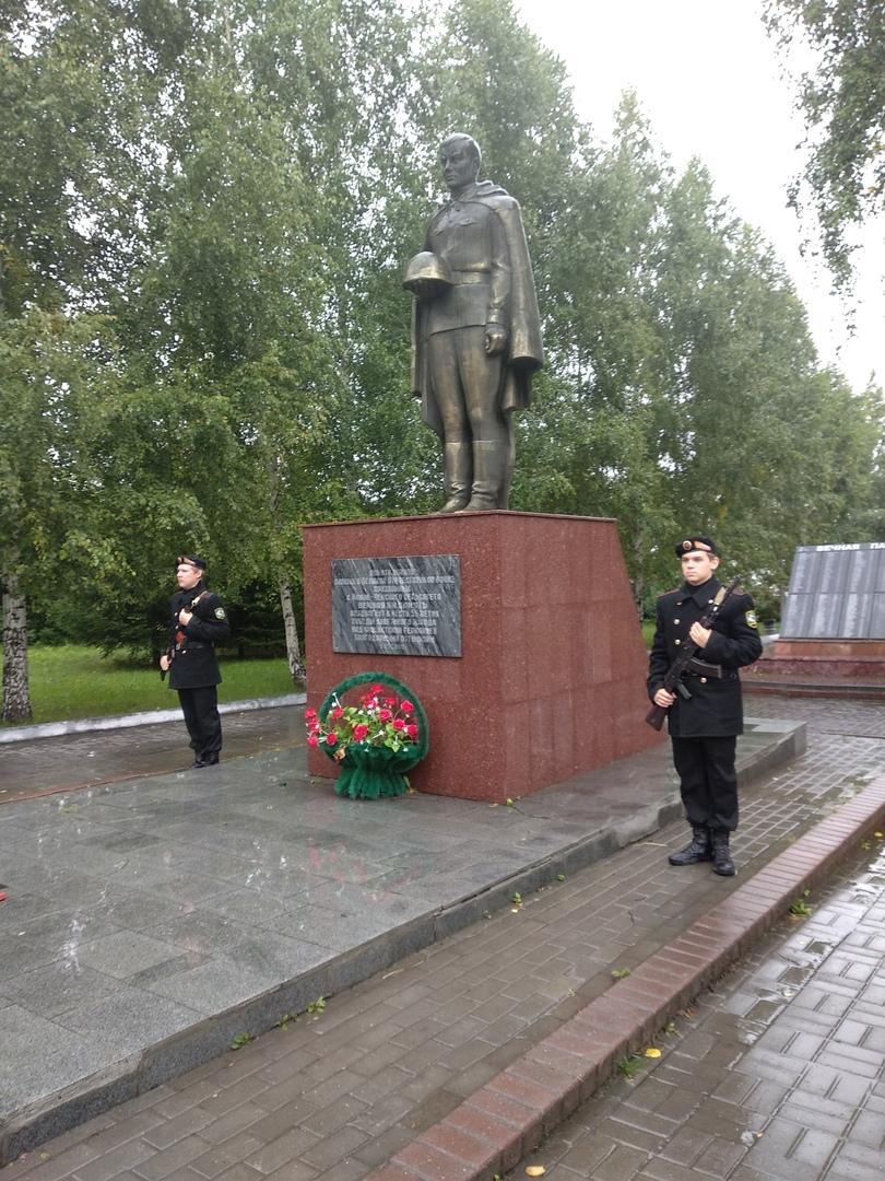 Вахта памяти ко Дню окончания Второй Мировой войны