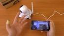 Как подключить Wi Fi камеру Escam к приложению CamHi