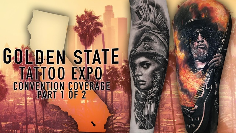 Golden State Tattoo Expo Convention Coverage pt. 1 of 2