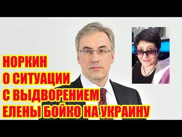 Андрей Норкин о выдворении Елены Бойко на Украину