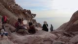 Ханг и Уду на пляже, о. Хормоз в Персидском заливе