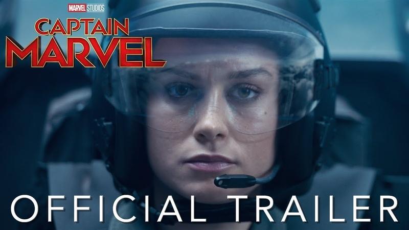 Капитан Марвел - Официальный трейлер